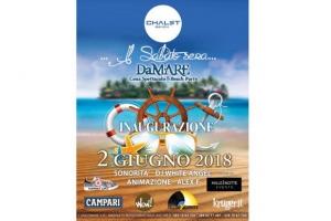 Chalet Beach inaugurazione sabato DaMARE