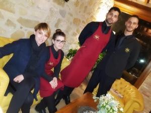 Lo staff della serata di Borgo Lanciano