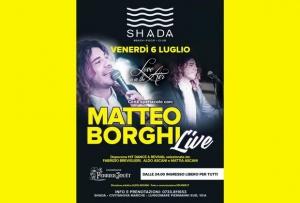 Matteo Borghi Shada luglio 2018