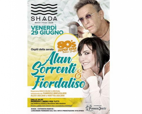 Alan Sorrenti & Fiordaliso Shada 2018