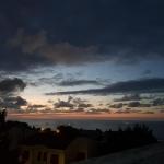 Falconara tramonto dal balcone