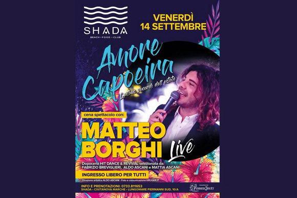 Matteo Borghi Shada 2018 settembre