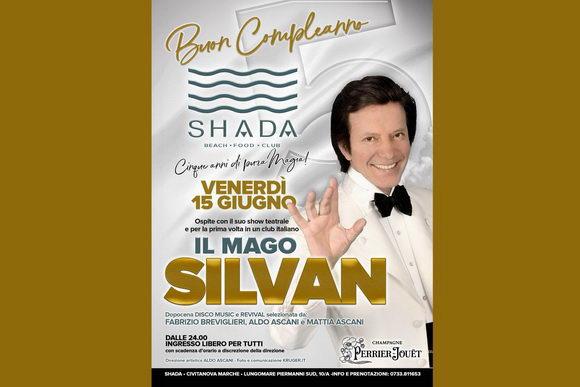mago Silvan Shada giugno 2018