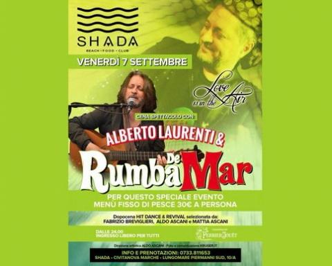 Rumba de Mar Shada settembre 2018