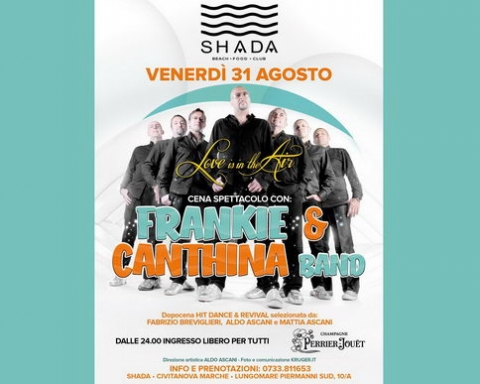 Frankie & Cantinha Band Shada 2018