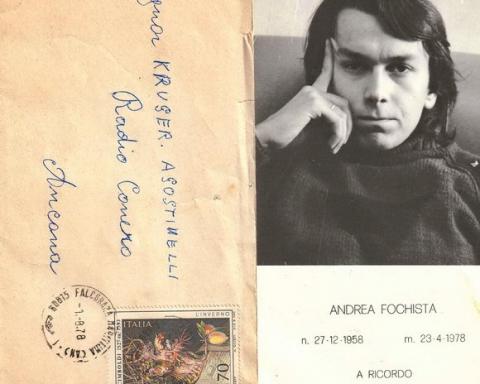 Mr Tilt Andrea Fochista disc jockey