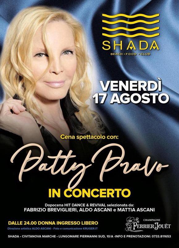 Patty Pravo Shada 2018