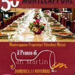 Pranzo di San Martino Vini Montecappone Jesi 2018