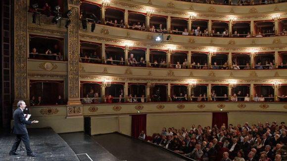 Roberto Benigni Teatro Pergolesi Jesi 2018