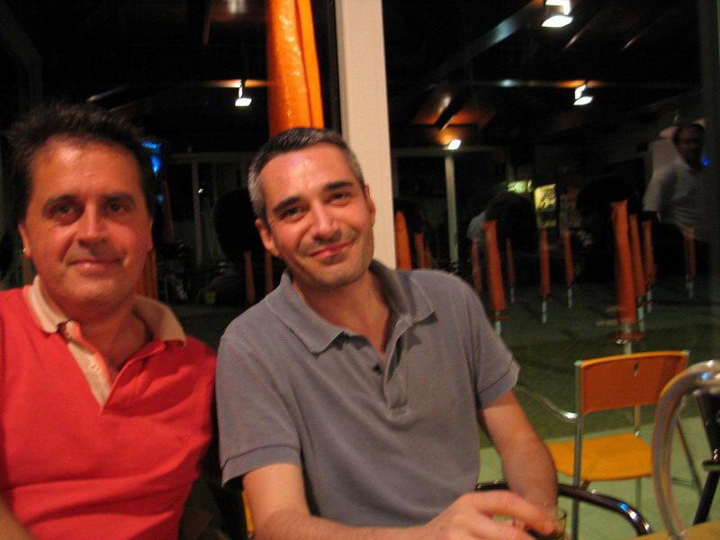 Kruger Agostinelli e Carlo Fava 12 luglio 2005 Falconara Villa Ferretti
