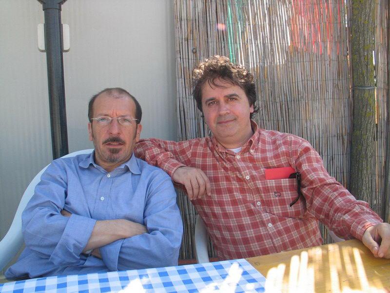 Dario Vergassola e Kruger Agostinelli 1 maggio 2005 Falconara Parco del Cormorano