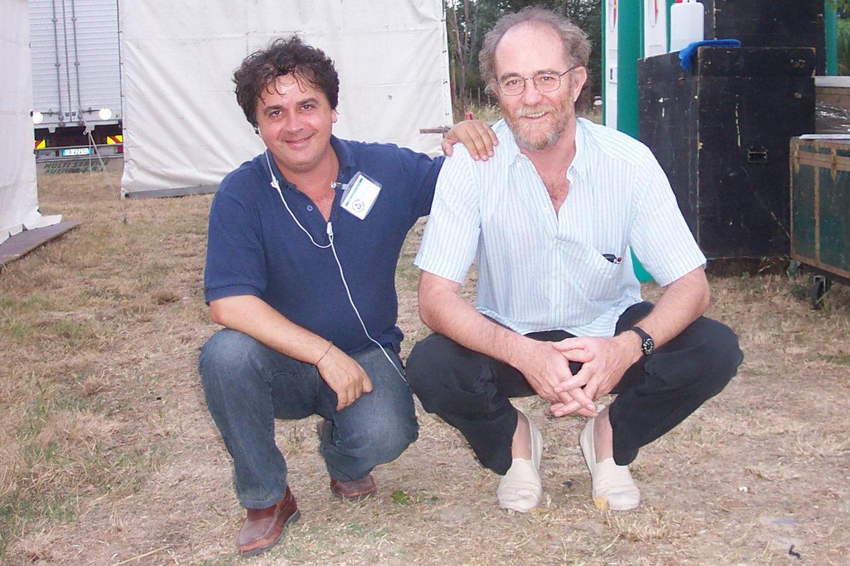 Kruger Agostinelli e Francesco De Gregori Kruger 9 luglio 2003 Falconara Parco del Cormorano