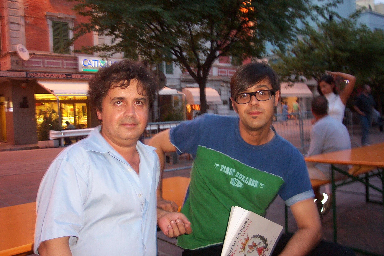 Kruger Agostinelli e Greg Claudio Gregori 12 luglio 2003 Falconara Piazza Mazzini