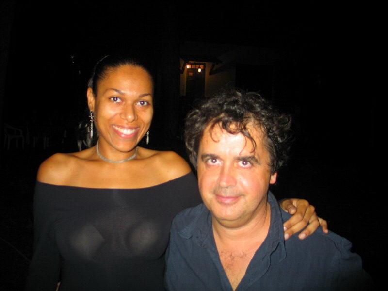 Jenny B e Kruger Agostinelli 9 agosto 2004 Falconara Villa Ferretti