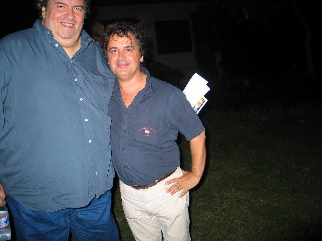 Massimo Manzi e Kruger Agostinelli 9 agosto 2004 Falconara Villa Ferretti