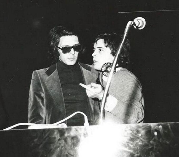 Pino Scaccia e Kruger Agostinelli settembre 1977 Falconara Piranha Club