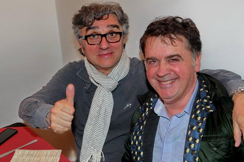 Gaetano Currieri (Stadio) e Kruger Agostinelli 14 febbraio 2016 Civitanova Donoma