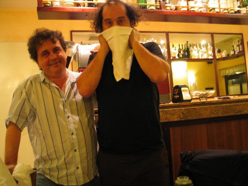 Kruger Agostinelli e Vinicio Capossela 15 luglio 2004 Falconara Arnia del Cuciniere