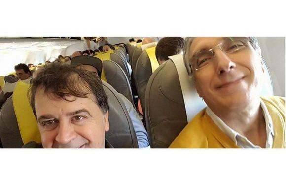 Kruger Agostinelli Roberto Stagnetta volo aereo