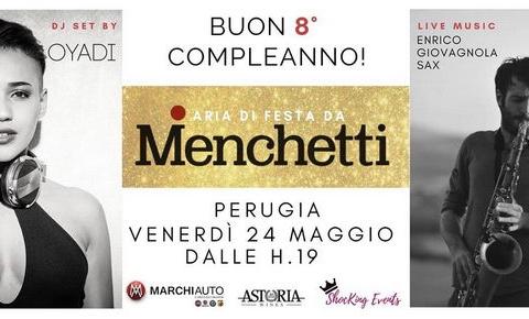 Ottavo compleanno Menchetti Perugia