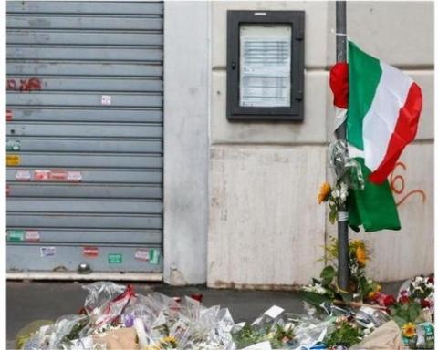 omicidio carabiniere Roma Prati