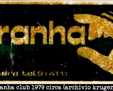 Adesivo del Piranha Club a Falconara Marittima