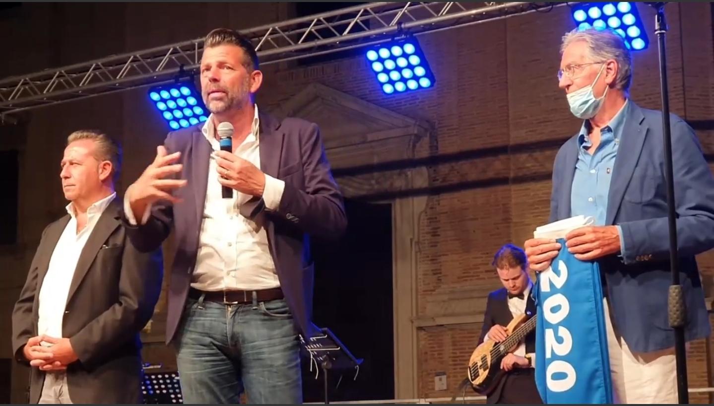 Maurizio Mangialardi al Premio Città di Senigallia 2020